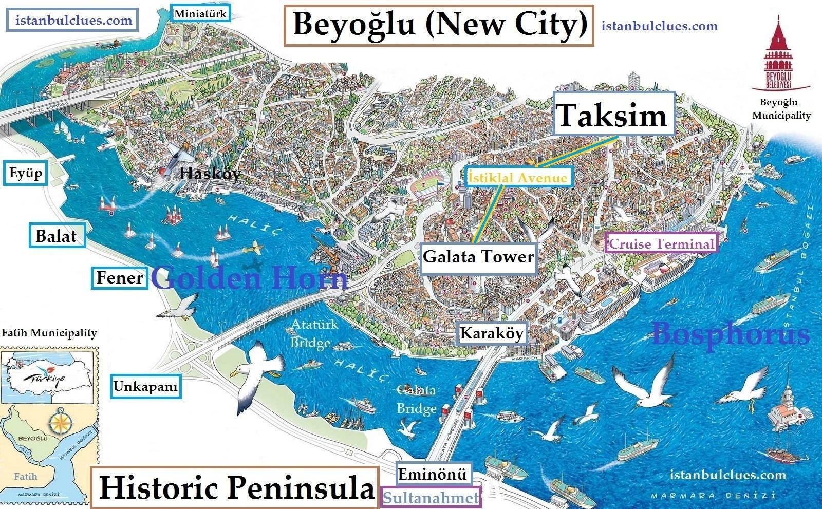 Karte Anzeigen.Taksim Istanbul Karte Istanbul Taksim Karte Türkei